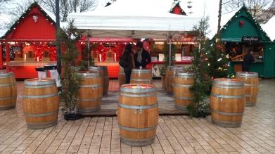 Des espaces pour profiter d'un bon vin chaud