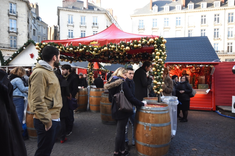 Le vin chaud - star incontournable de la place royale