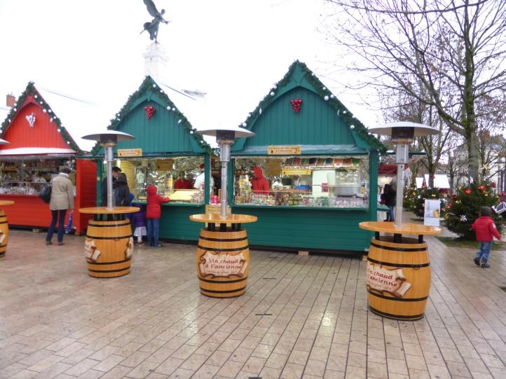 Les confiseries du marché de Noël de Dijon