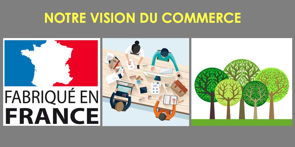 Notre vision du commercer en France