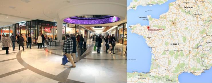 Centre commercial Rennes Alma