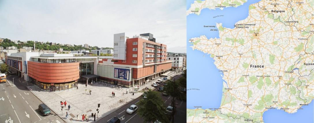 Centre commercial Espace Coty Le Havre